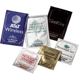 Pacific Anti-bacterial Gel Packets (Large)