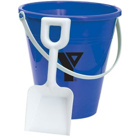 Branded Pail and Shovel