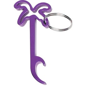 Palm Tree Bottle Opener Key Ring Giveaways