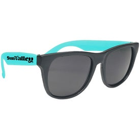Wayfarer Style Sunglasses Imprinted with Your Logo