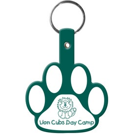 Paw Flexible Key Tag for Your Church