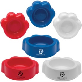 Paw Shaped Pet Bowl (22 Oz.)
