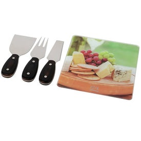 Square Cheese Set for Marketing