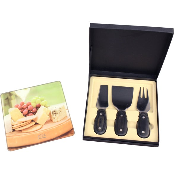 Square Cheese Set