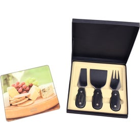 Square Cheese Set (4 Piece)