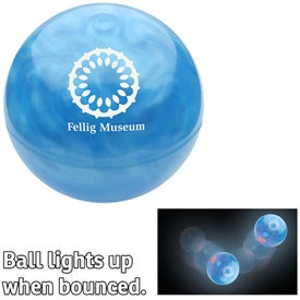 Pearl Galaxy Promo Bouncer Branded with Your Logo