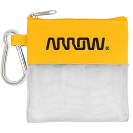 Pedometer and Ear Bud Pouch for Advertising