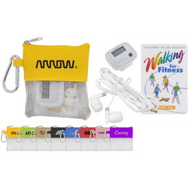 Pedometer and Ear Bud Pouch