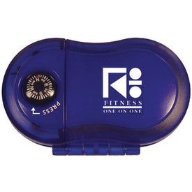 Advertising Pedometer with Compass