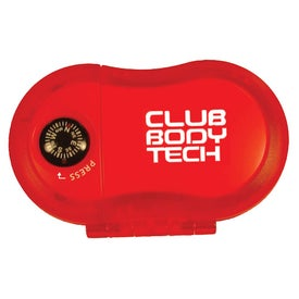 Pedometer with Compass Imprinted with Your Logo