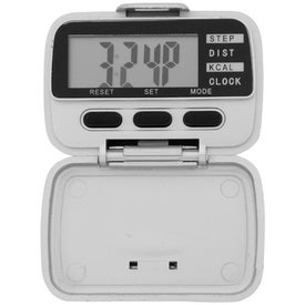 Pedometer with Clock for Customization