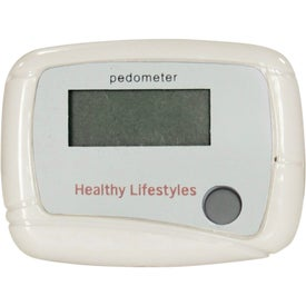 Pedometer with Your Slogan
