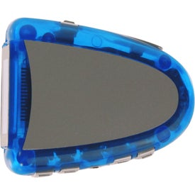 Pedometer with FM Scanner Radio Branded with Your Logo