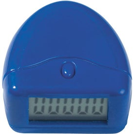 Monogrammed Easy to Read Pedometer