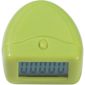 Easy to Read Pedometer for Customization