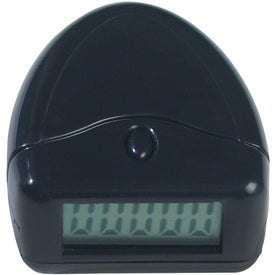 Printed Easy to Read Pedometer