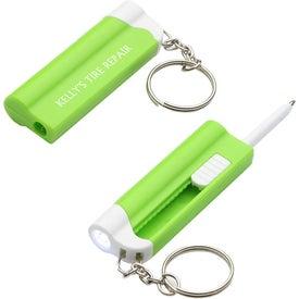 Company Access LED Pen Light Key Chain