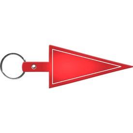 Pennant Flexible Key Tag for Marketing