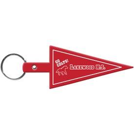 Pennant Flexible Key Tag for Your Organization