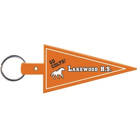Pennant Flexible Key Tag