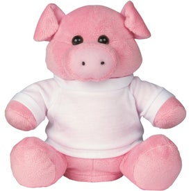 Penny Pincher Plush Pig Bank