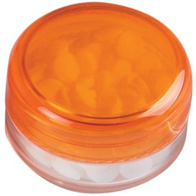 Company Peppermints In Circle Case