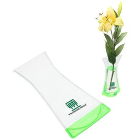 Perennial Foldable Vase with Your Logo
