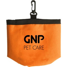 Perky Pet Treat Container Printed with Your Logo