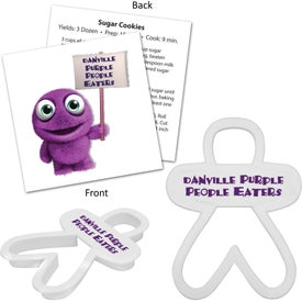 Imprinted Person Cookie Cutter