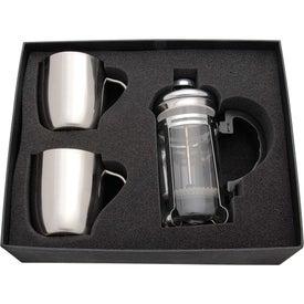 Imprinted Personal Espresso Set