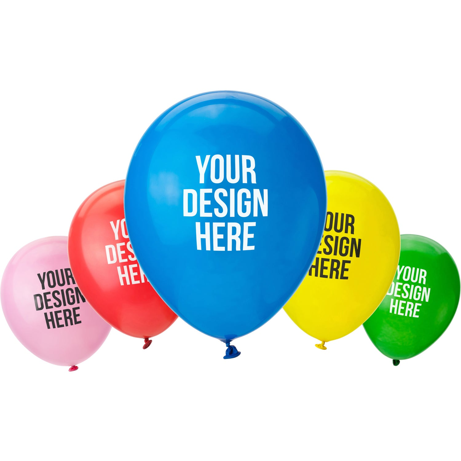 Promotional 9 Latex Balloons With Custom Logo For 040 Ea
