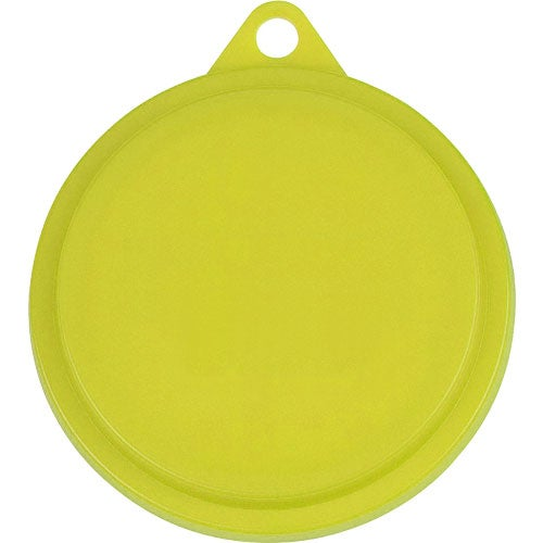 Yellow Pet Food Can Lid