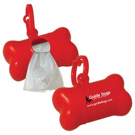 Logo Pet Waste Bag Dispenser