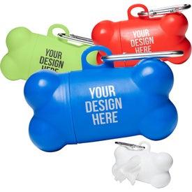 Logo Pet Waste Disposal Bag Dispenser