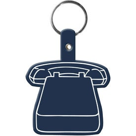 Phone Key Tag with Your Slogan
