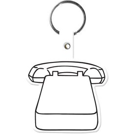 Personalized Phone Key Tag