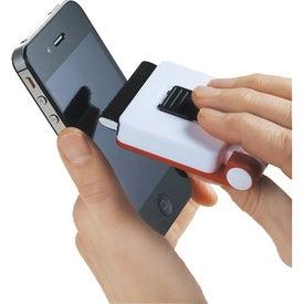 Custom Phone Holder-Screen Cleaner