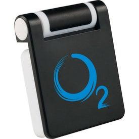 Monogrammed Phone Holder-Screen Cleaner