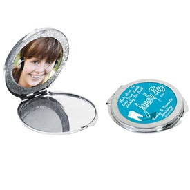 Photo Compact Mirror for Marketing