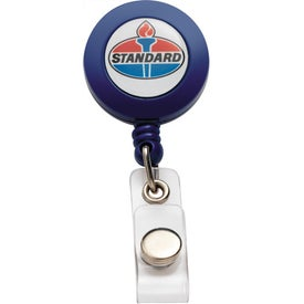 PhotoVision Round Badge Holder for Your Company