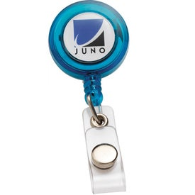 Advertising PhotoVision Round Badge Holder