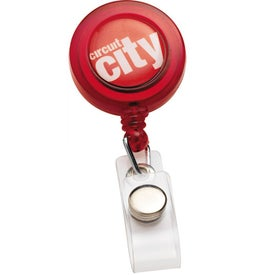 Printed PhotoVision Round Badge Holder