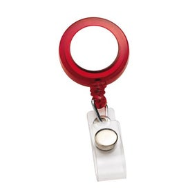 PhotoVision Round Badge Holder Printed with Your Logo