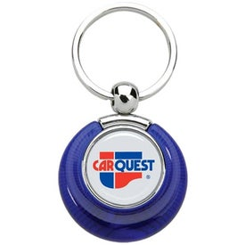 PhotoVision Circle Key Ring for Advertising