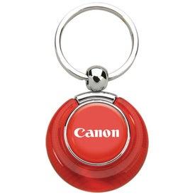 Customized PhotoVision Circle Key Ring