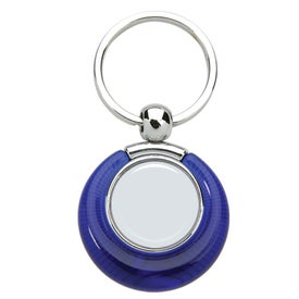 Advertising PhotoVision Circle Key Ring