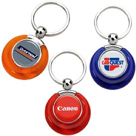 PhotoVision Circle Key Ring
