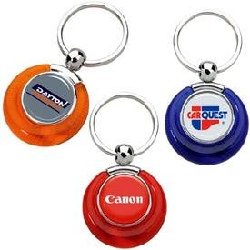 Personalized PhotoVision Circle Key Ring
