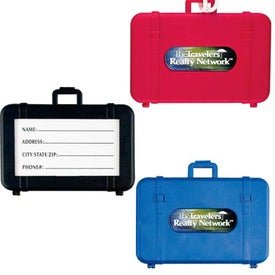 PhotoVision Luggage Tag Imprinted with Your Logo