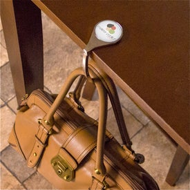 PhotoVision Premium Purse Hanger Branded with Your Logo